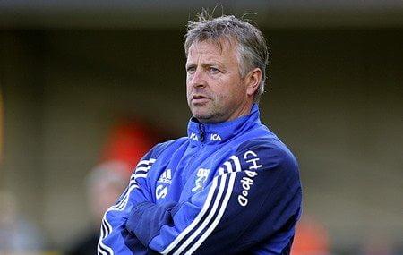 Fotballtrener Arne Erlandsen.