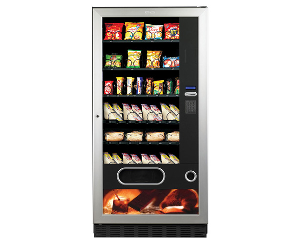 automat med mat og snacks