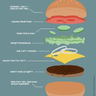 hamburger farlig