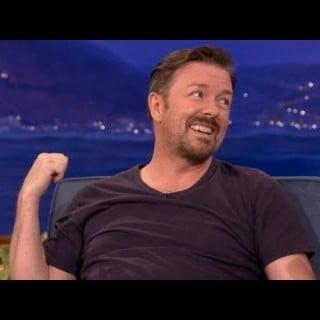 Ricky Gervais om Vikinger på Standup Show hos Conan