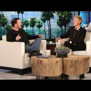 Ricky Gervais på Ellen Show!