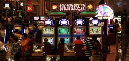 Kjendiser som er foreviget i en spilleautomat