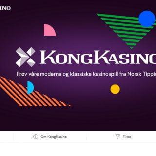 KongKasino – et moderne Casino fra Norsk Tipping